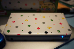 3DS XL Animal Crossing Limited Edition (Moded)