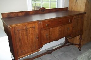 Antique sideboard.