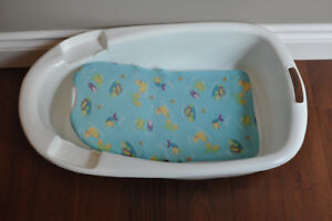 2-stage baby bath
