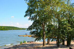 TWO LAKEFRONT LOTS FOR SALE/RENT SANDY COVE PINE LAKE RESORT