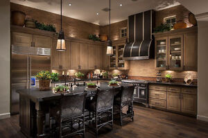Custom Kitchens & Cabinetry!