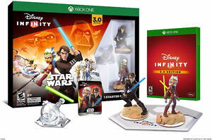 New Disney Infinity 3.0 Edition Star Wars Starter Pack for Xbox