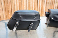 Talisman Saddle Bags with Easy Brackets