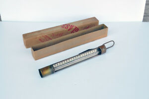 Vintage Duro Copper Candy Thermometer