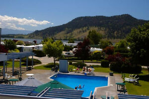 Aug-$900/wk V Large 1BR Condo Holiday Park Resort,Kelowna