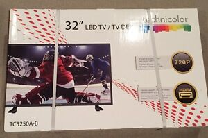 Technicolor 32 Inch LED Flat Panel Television - Brand New In Box