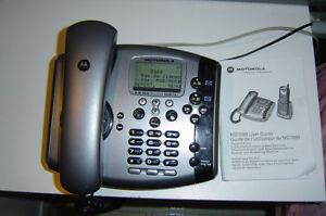 Téléphone répondeur 2 Lignes Filiaire pour bureau ou Rés ( FAX )