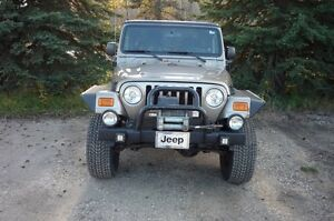 "2003 Jeep TJ  With Rubicon 4"" lift"