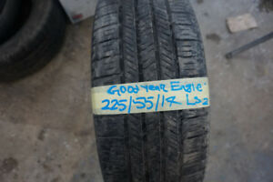 225/55/17 GOOD YEAR EAGLE SUMMER TIRE