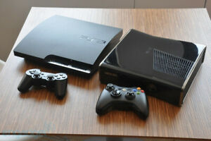 Playstation 3 (PS3) and XBOX 360 CONSOLE BUNDLE