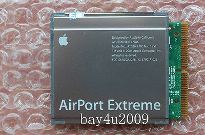 Apple Mac Mini G4 PowerPC AirPort Extreme Wireless Networking WiFi 802.11b Card