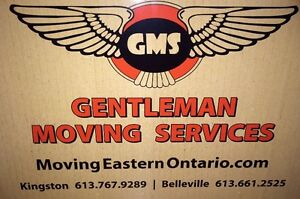 Gentleman Moving Service  Kingston and Belleville Ontario