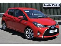 2015 Toyota Yaris 1.5 Excel e-CVT 5dr (15in Alloys)