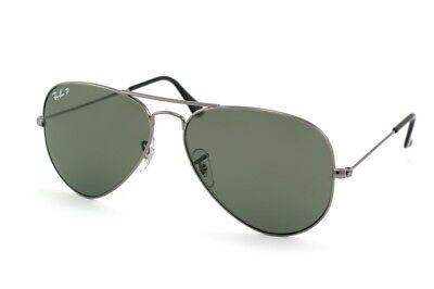 Brand New!! Ray-Ban Polarized Aviator Large Metal Sunglasses - RB3025