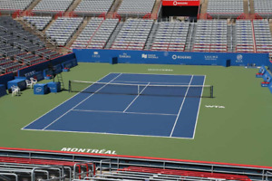 Tennis Rogers Cup  - 2 seats with VIP Lounge access
