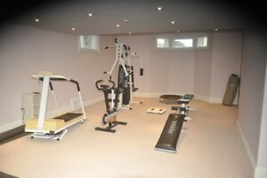 6 pc. Gym Equipment for Sale