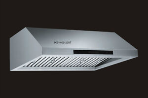Undercabinet -Range hood - 900 CFM - Very Powerful