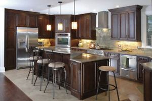 CHRISTMAS SALES-100% Maple Cabinets Custom Made 50% OFF