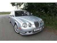 "2007 Jaguar S-TYPE 2.7D V6 auto XS 88K FJSH FULL BODYKIT 18"" ALLOYS 45 MPG XENON"