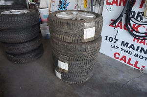4 HYUNDAI GENESIS RIMS AND TIRES