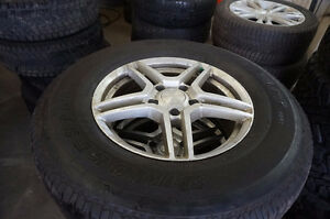 265 70 17 JEEP WRANGLER RIMS AND TIRES