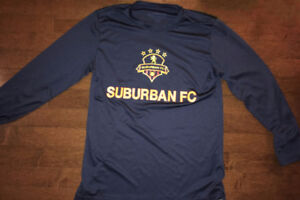 Suburban FC gear (see sizing inside the ad)