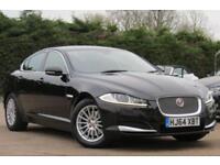 JAGUAR XF 2.2 D SE BUSINESS AUTO 163 BHP DIESEL 2014 64 BLACK