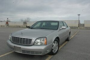 2004 CADILLAC DEVILLE  BLUETOOTH/LEATHER LOW LOW KM