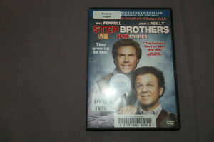 STEP BROTHERS   DEMI FRERES DVD