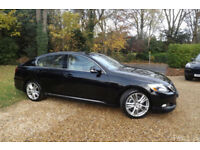 2008 08 Lexus GS 450h 3.5 V6 Sport AUTOMATIC ELECTRIC HYBRID CHEAP TAX 40 MPG