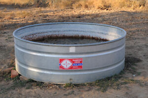 Galvanized large animal water troughs ANY CONDITION