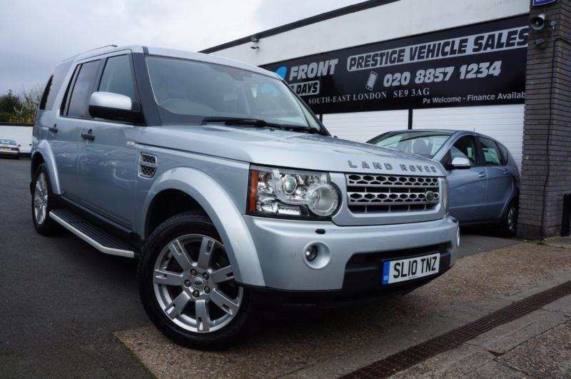 2010 LAND ROVER DISCOVERY 4 3.0 TDV6 XS DIESEL AUTOMATIC 4X4 4X4 DIESEL