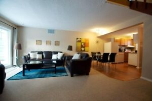 Fully furnished 1650 sqft townhouse - near West Edmonton Mall