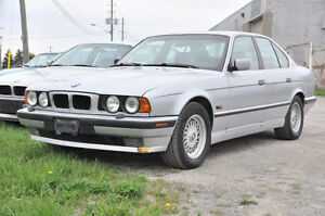 V BMW e34 530i Sedan Built 09 1995 M60 V8 Auto GE94264 Silver