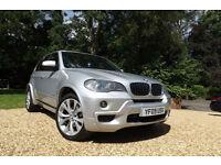 2009 09 BMW X5 3.0 Xdrive 30d M SPORT AUTO 7 SEATER FBMWSH MEGA SPEC CAR SAT NAV