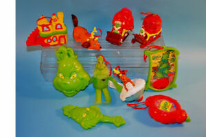 2003 GRINCH WHO STOLE CHRISTMAS Dr Seuss Ornaments Toys Figures*