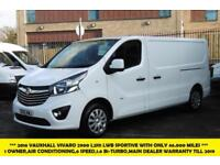 2016 VAUXHALL VIVARO 2900 L2H1 CDTI SPORTIVE LWB WITH ONLY 46.000 MILES,AIR COND