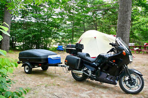 KAWASAKI CONCOURS AND TRAILER