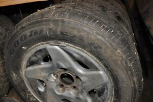 Sale, Goodyear P225/60/16 tires and rims