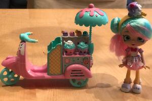 Shopkins Shoppies Peppa-Mint's Gelati Scooter (Season 8)