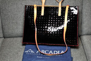 New large Arcadia shoulder bag/tote/briefcase, Made in Italy