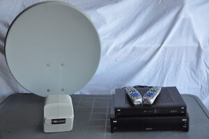 Complete Bell set up - Antenna, PVR & receiver