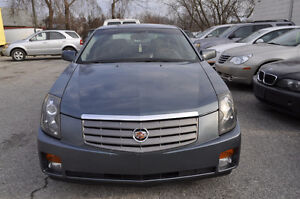 2006 Cadillac CTS 6 Cyl, Leather, Sunroof Sedan, E-Certified.