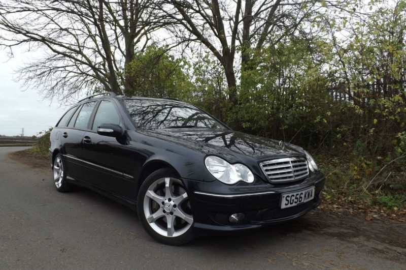 2006 56 mercedes-benz c220 cdi sport edition diesel estate amg