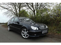 2006 56 Mercedes-Benz C220 CDI Sport Edition DIESEL ESTATE AMG PACKAGE FSH ECO