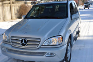 Mercedes Ml 500 Special Edition.