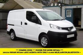 2014 NISSAN NV200 1.5DCI ACENTA DIESEL VAN WITH ONLY 41.000 MILES,AIR CONDITIONI