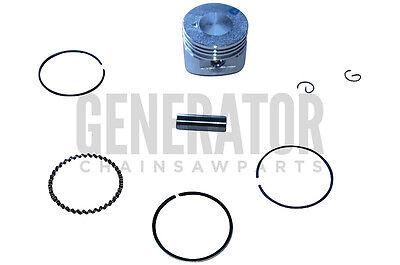 Piston Kit w Rings For Mantis 7940 7268 7264 Mini Tiller 25cc Engine Motors ()