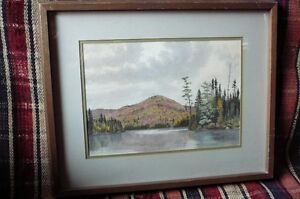 Original Water Colour by M.J. Cleary