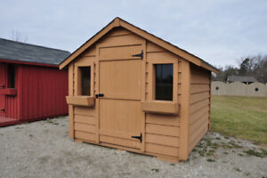 SOLID PINE SHEDS